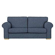 Buy John Lewis Milford 3 Seater Sofa, Light Legs, Catrin Navy Online at johnlewis.com