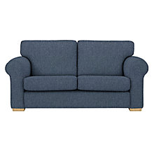 Buy John Lewis Milford 2 Seater Sofa, Light Leg, Catrin Navy Online at johnlewis.com