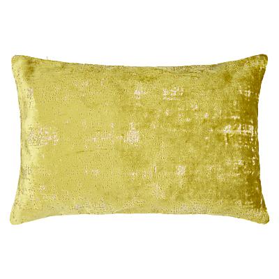 John Lewis Distressed Velvet Cushion