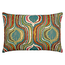 Buy John Lewis Miami Cushion, Blue Online at johnlewis.com