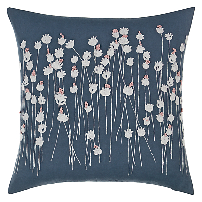 John Lewis Croft Collection Poppies Cushion