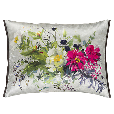 Image of Designers Guild Aubriet Cushion, Fuchsia