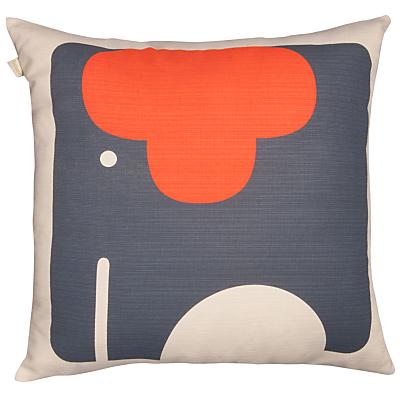 Image of Orla Kiely Elephant Cushion, Tomato