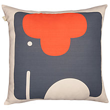 Buy Orla Kiely Elephant Cushion, Tomato Online at johnlewis.com