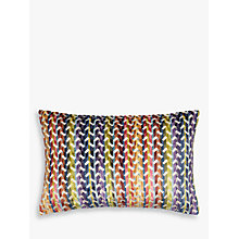 Buy John Lewis Accoterra Stripe Cushion, Multi Online at johnlewis.com