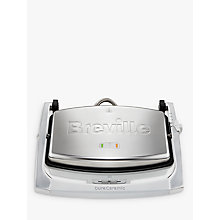 Buy Breville VST071 DuraCermic Cafe Style Sandwich Press, Stainless Steel Online at johnlewis.com