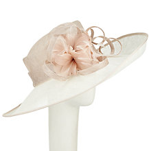Buy John Lewis Lisa Side Up Occasion Hat, Ivory Online at johnlewis.com