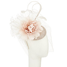 Buy John Lewis Alia Veil Pillbox Quills Veil Fascinator, Ivory Online at johnlewis.com