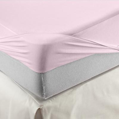 Velfont Respira Waterproof & Hyper-Breathable Knitted Cotton Mattress Protector, Single