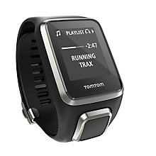 Buy TomTom Spark Cardio & Music GPS Fitness Watch Premium Edition, Black, Large Online at johnlewis.com