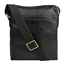 Buy Hidesign Fitch City Flight Bag, Black Online at johnlewis.com