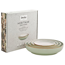 Buy Denby Deli Nesting Bowl Set, 4 Pieces, Green Online at johnlewis.com
