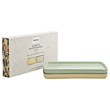 Buy Denby Deli Rectangular Platter, Small, Set of 2 Online at johnlewis.com