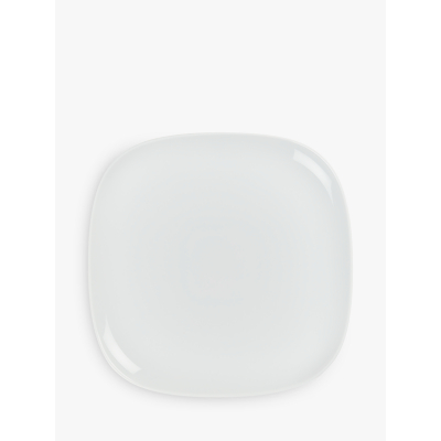 Image of House by John Lewis Eat 16cm Square Plate, White