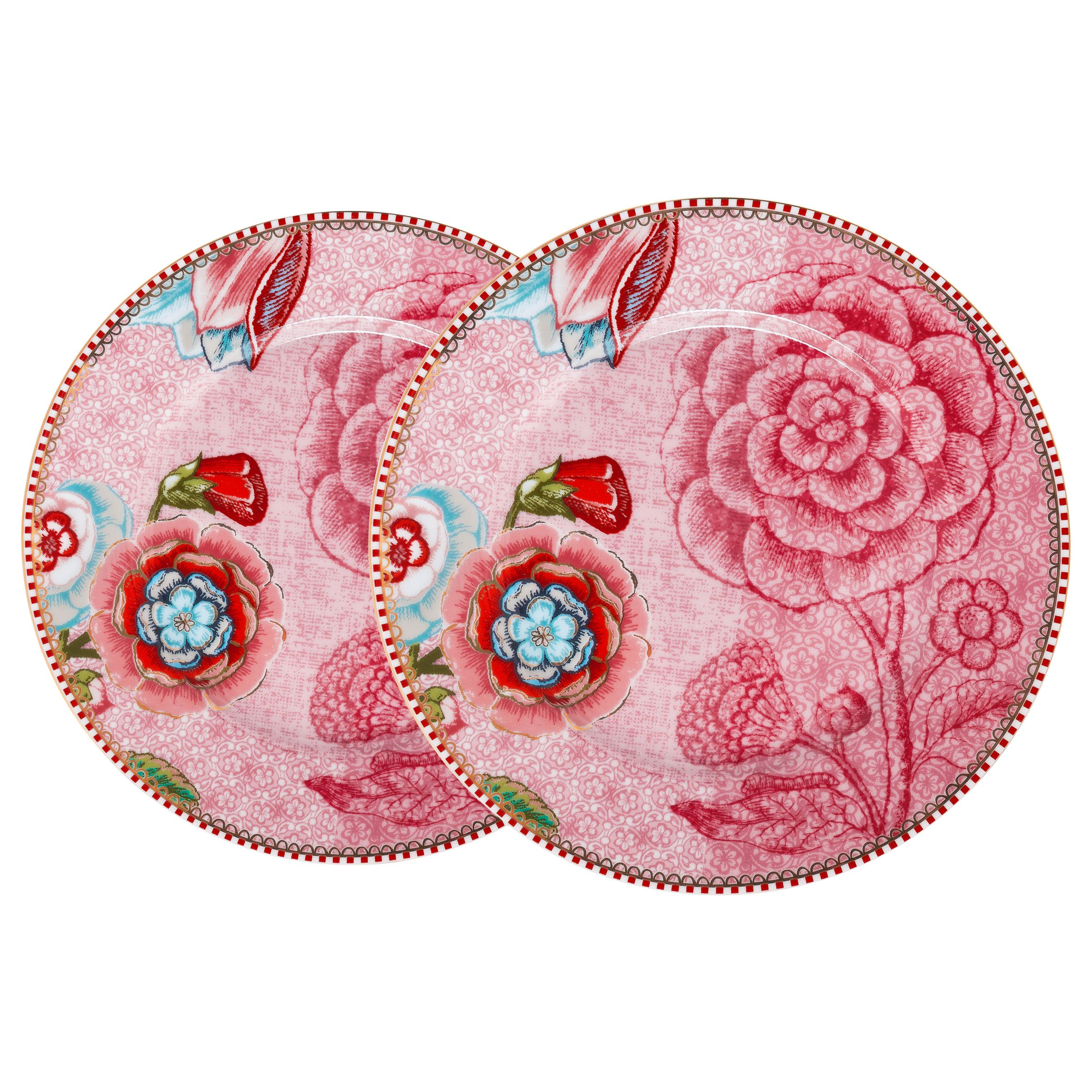 PiP Studio PiP Studio Spring To Life 17cm Plate, Set of 2
