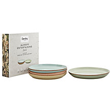 Buy Denby Deli Coupe Medium 21cm Plate, Set of 4 Online at johnlewis.com
