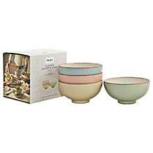 Buy Denby Deli Rice Bowls, Set of 4 Online at johnlewis.com
