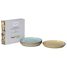 Buy Denby Deli Coupe 25.5cm Plates, Set of 4 Online at johnlewis.com