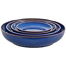 Buy Denby Imperial Blue Nesting Bowls, Set of 4 Online at johnlewis.com