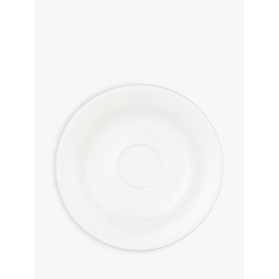 Image of House by John Lewis Eat 12.2cm Espresso Saucer, White