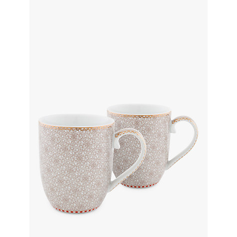 Buy pip studio spring to life small mug set of 2 natural - Pip studio espana ...