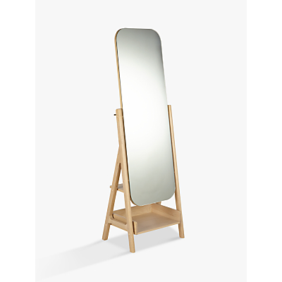 Image of Design Project by John Lewis No.049 Mirror, Oak