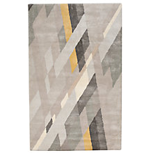 Buy west elm Abstract Ribbons Rug, L244 x W152cm, Grey Online at johnlewis.com
