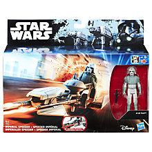 Buy Star Wars Imperial Speeder And AT-DP Pilot Online at johnlewis.com