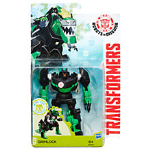 Buy Transformers Robots in Disguise Warrior Class Grimlock Figure Online at johnlewis.com