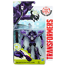 Buy Transformers Robots in Disguise Mini-Con Weaponizers Decepticon Fracture Figure Online at johnlewis.com