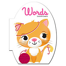 Buy Words (Look & Learn) Children's Book Online at johnlewis.com