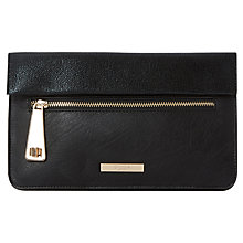 Buy Dune Evie Clutch Bag, Black Online at johnlewis.com