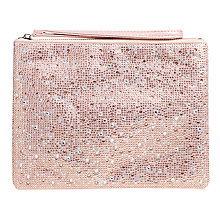 Buy Carvela Gaye Clutch Bag, Pink Online at johnlewis.com