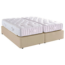 Buy Vispring Special Salcombe Zip Link Divan Base and Mattress Set, Super King Size Online at johnlewis.com