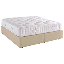 Buy Vispring Special Chatsworth Divan Base and Mattress Set, Super King Size Online at johnlewis.com