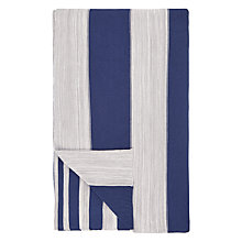 Buy John Lewis Coastal Rye Stripe Throw Online at johnlewis.com