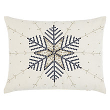 Buy John Lewis Star Embroidery Cushion Online at johnlewis.com