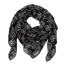 Buy Betty Barclay Scarf, Black/Beige Online at johnlewis.com