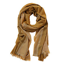Buy Betty Barclay Metallic Stripe Scarf, Green/Beige Online at johnlewis.com