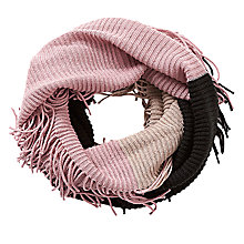 Buy Betty Barclay Chunky Knit Snood, Taupe/Rosé Online at johnlewis.com