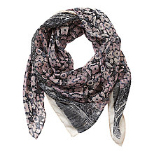 Buy Betty Barclay Scarf, Grey/Rosé Online at johnlewis.com