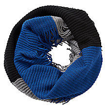 Buy Betty Barclay Chunky Knit Snood, Grey/Blue Online at johnlewis.com
