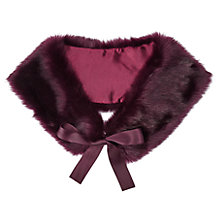 Buy Miss Selfridge Faux Fur Neck Tie Online at johnlewis.com