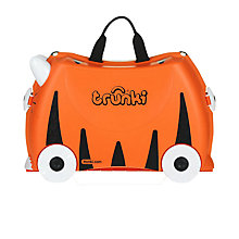 Buy Trunki Tipu Suitcase with Spike the Blowfish Paddlepak, Orange Online at johnlewis.com