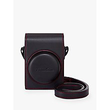 Buy Canon DCC-1880 Soft Leather Camera Case for PowerShot G7X II, Black Online at johnlewis.com