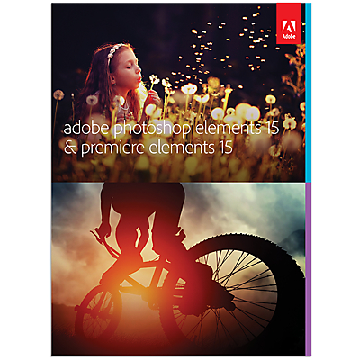 Adobe Photoshop and Premiere Elements 15 Photo and Video Editing Software