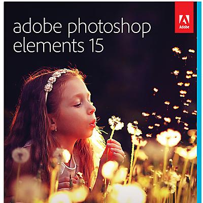 Adobe Photoshop Elements 15 Photo Editing Software