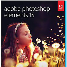 Buy Adobe Photoshop Elements 15, Photo Editing Software Online at johnlewis.com