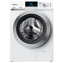 Buy Panasonic NA-149XR1WGB Freestanding Washing Machine, 9kg Load, A+++ Energy Rating, 1400rpm Spin, White Online at johnlewis.com
