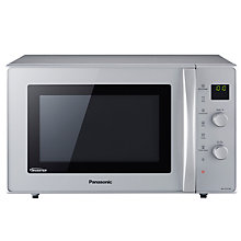 Buy Panasonic NN-CD575M Combination Microwave, Silver Online at johnlewis.com